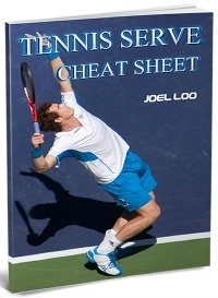 tennis serve cheatsheet