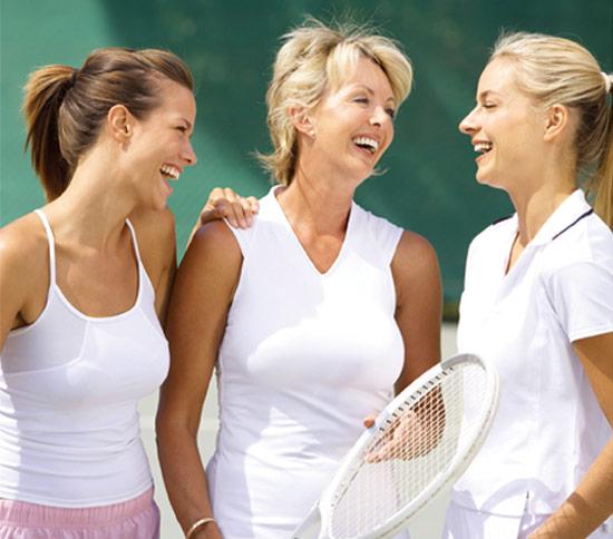 encourage through tennis