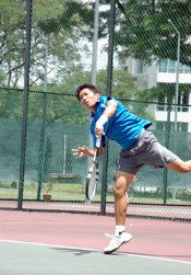 Joel Loo - Tennis coach from Singapore
