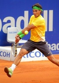 Rally in tennis - here Nadal playing