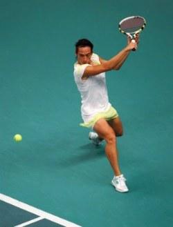 Tennis backhand