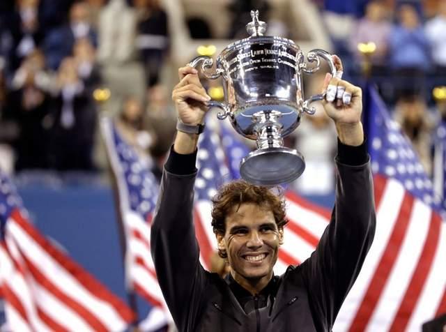 US Open champion Nadal